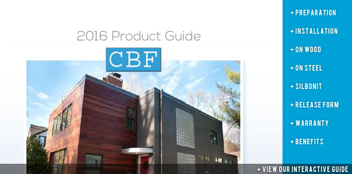 Cement Board Fabricators Product Guide